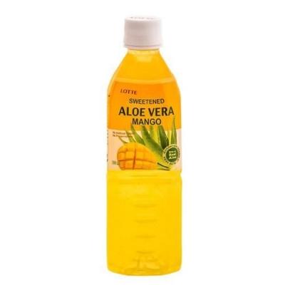 Напиток безалкогольный  Lotte Алоэ Вера Манго пл.бут