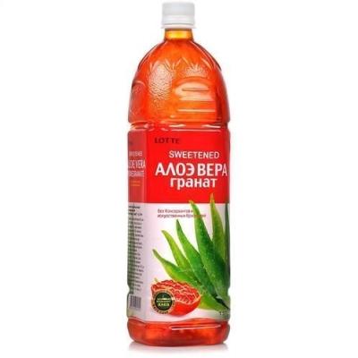 Напиток безалкогольный Lotte  Алоэ Вера Гранат