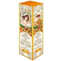 Пастила воздушная в ломтиках Белевская Старые традиции Фруктовое ассорти (абрикос, апельсин, вишня)