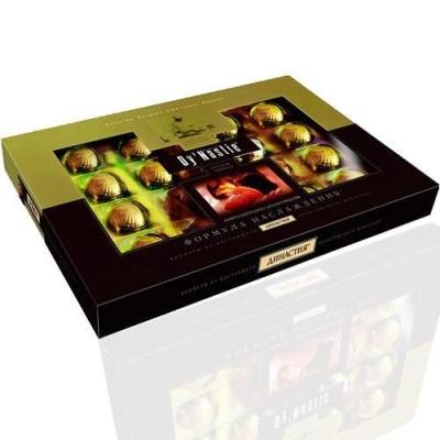 Конфеты шоколадные Династия Формула наслаждения с миндалем