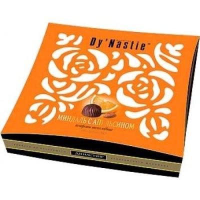 Конфеты шоколадные Династия Миндаль с апельсином