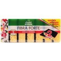 Губки кухонные Domi большие Fibra Forte 5шт