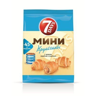 Круассан Мини '7Дней' вареная сгущенка