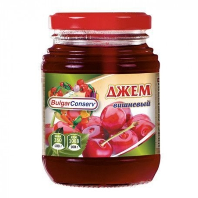 Джем Булгарконсерв вишневый твист