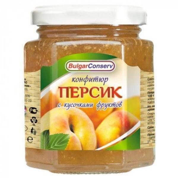 Конфитюр Булгарконсерв Персик твист