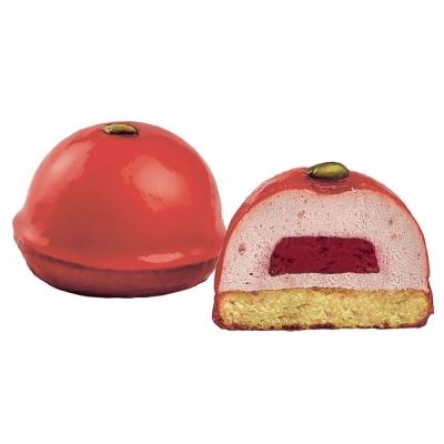 Пирожное Кристоф 'Малиновая бомба' замороженное