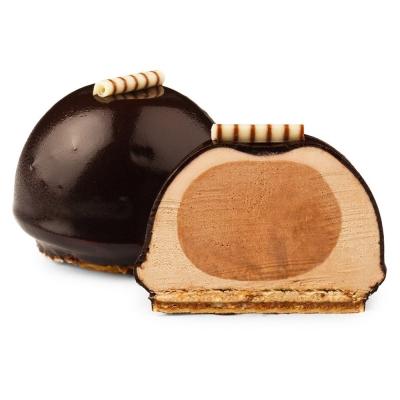 Пирожное Кристоф 'Шоколадная бомба' замороженное