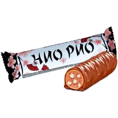 Батончик Чио Рио в мягкой карамельной с молочно-шоколадной глазурью