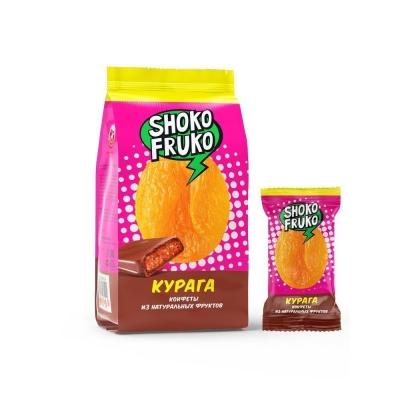 Конфеты SHOKO FRUKO глазированные Курага