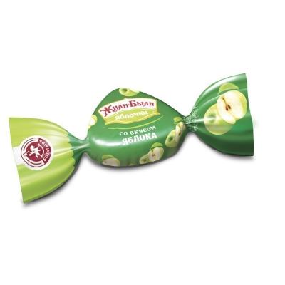 Карамель леденцовая Богатырь вкус Зеленого яблока мини