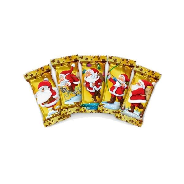 Конфеты С Новым годом! нуга с мягкой карамелью и арахисом со сливочным ароматом Дед мороз