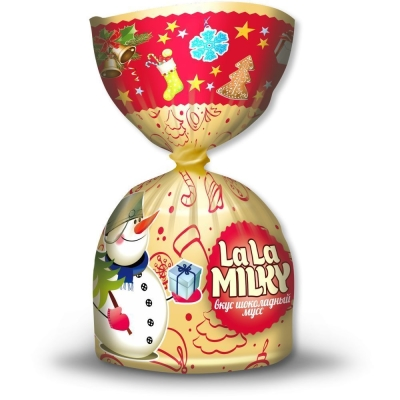 Конфеты La La MILKY Сладкого Нового года 'Шоколадный мусс'