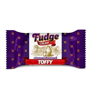 Конфеты глазированные Fudge Cream молочные Тоффи