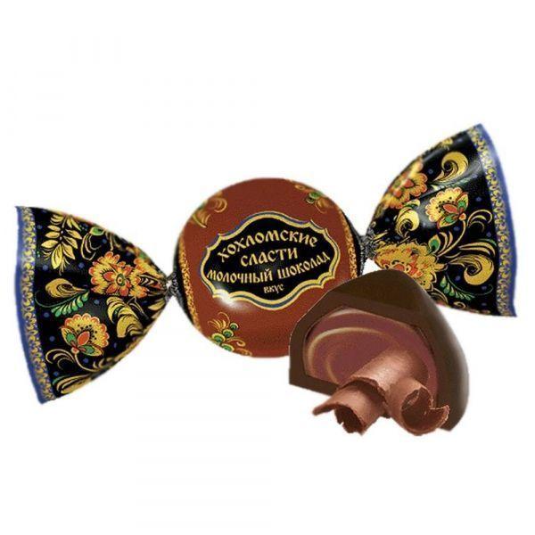 Конфеты Хохломские сласти Клубника со сливками