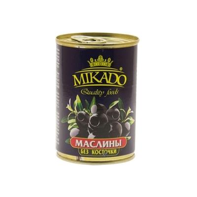 Маслины черные Mikado без кост. ж/б