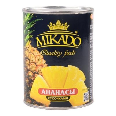 Ананас Mikado кусочки ж/б
