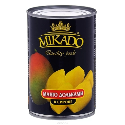 Манго Mikado ломтики ж/б
