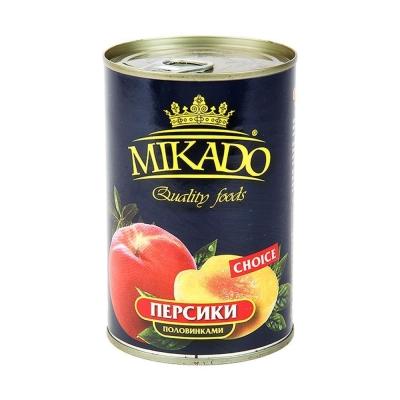 Персик Mikado половинки ж/б