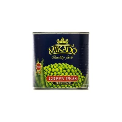 Горошек зеленый Mikado консервированный ж/б