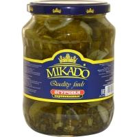 Огурцы Mikado стекло