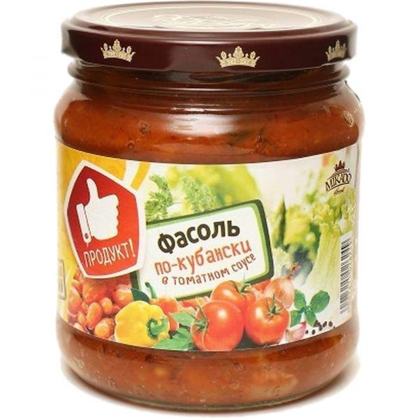 Фасоль печеная Mikado в томатном соусе стекло
