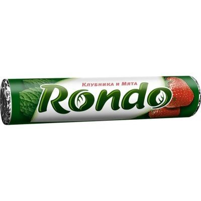 Освежающие конфеты Рондо клубника