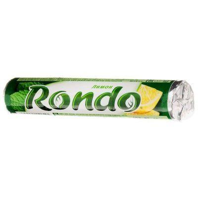 Освежающие конфеты Рондо лимон-мята