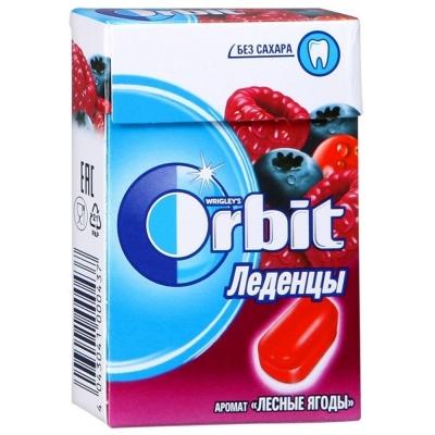 Леденцы Орбит Лесная ягода