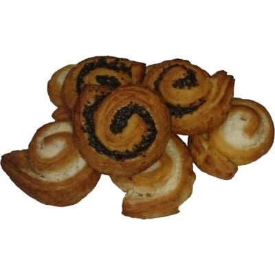 Печенье Тульский кондитер Улитка с клубничной начинкой