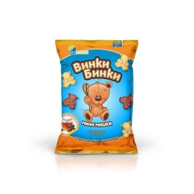 Печенье сдобное Авангард ВИНКИ БИНКИ мини-мишки ванильно-сливочный вкус