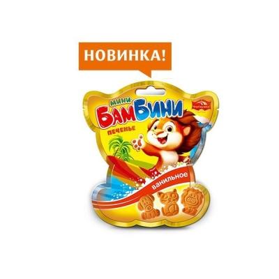 Печенье Черемушки Мини-Бамбини сахарное ванильное