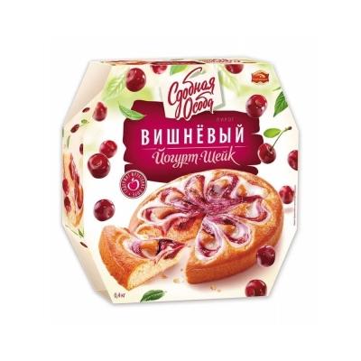Пирог Черемушки вишневый Йогурт-шейк