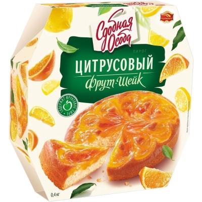Пирог Черемушки Цитрусовый