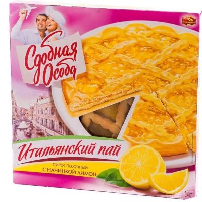 Пирог Черемушки Черемушки Итальянский пай лимон