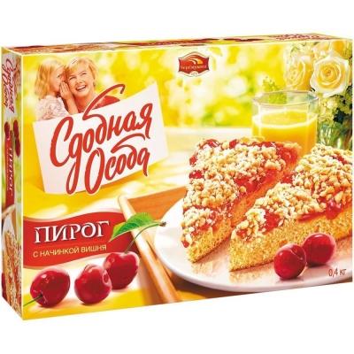 Пирог Черемушки Вишневый