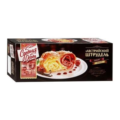 Пирог Черемушки Австрийский штрудель вишня, ваниль