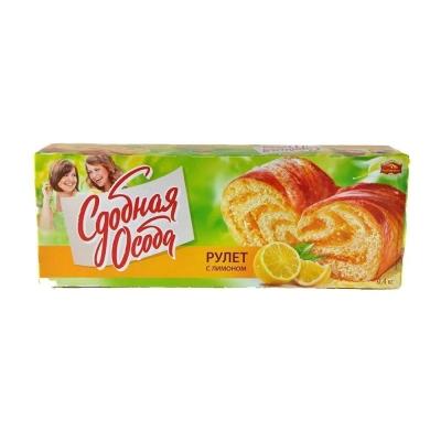 Рулет Черемушки С лимоном