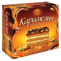 Торт Черемушки Карамелия